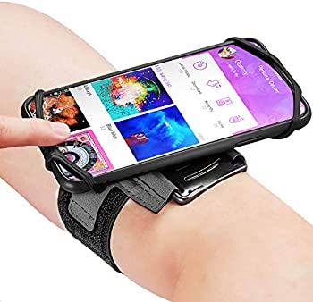 Newppon 180 Rotatable Running Phone Armband with Key Holder