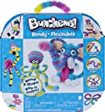 Spin Master- Bendy Activity to Build Poseable Creations with and 9 Accessories Kit de Actividades curvadas para Construir Creaciones posibles con 346 bunchems y 9 Accesorios, Color Gris (6046471)