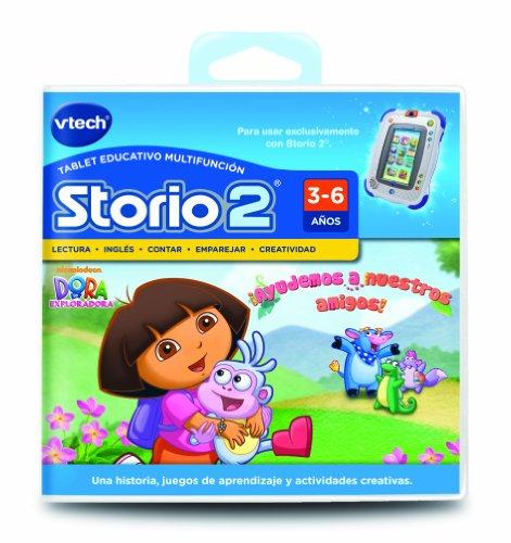 VTech - Juego para Tablet Educativo, Storio, Dora la Exploradora (3480-230622)