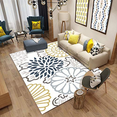 HXJHWB Tappeto Salotto Design Decorazione - Soggiorno Art Art Abstract Geometric 3D Stampa Tappeto Moderno Moda Indoor antiscivolo-160cmx230cm.