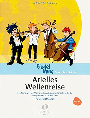Arielles Wellenreise – eine musikalische Unterwasserreise für Streichinstrumente [Noten/Sheetmusic]