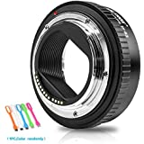 VILTROX EF-R2 Auto Focus Lens Mount Adapter Ring for Canon EF/Canon EF-S Seires Lenses to Canon EOSR/Canon EOSRP Series Cameras
