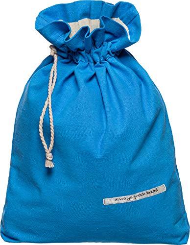 Goodleks Patented Linen Bread Bag, Reusable Bread Bags for Homemade Bread Large