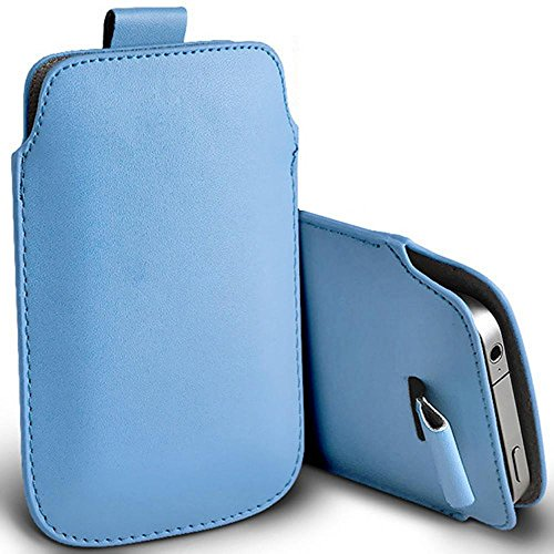 Digi Pig Simple Easy Access Schutzhülle für Doro Handys, Babyblau, Doro 508