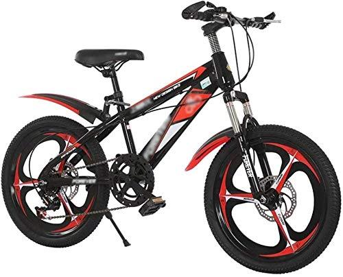 Bicicletta durevole di alta qualità, Biciclette for bambini con freni a disco, sospensione anteriore in alluminio mountain bike, bici da 18-20 pollici for bambini 7-9 anni, ragazze e bambini piccoli R