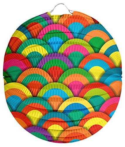 Lanterne cercles ronds 22 cm