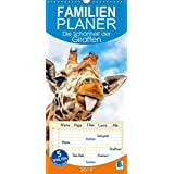 Die Schoenheit der Giraffen (Wandkalender 2019 , 21 cm x 45 cm, hoch): Giraffen, die afrikanischen Tiere mit Weitblick, Familienplaner 5 Spalten (Familienplaner, 14 Seiten )