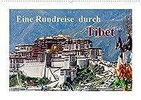 Eine Rundreise durch Tibet (Wandkalender 2022 DIN A2 quer): Tibet - Ein Land zwischen Historie und Moderne (Monatskalender, 14 Seiten )