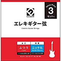 E.D.GEAR EEGS10-3S エレキギター弦/010-046 EDギア