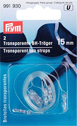 Prym Bretelles transparentes 15 mm