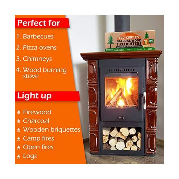 Eco-KINDLES encendedores de madera natural 1