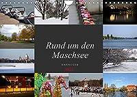 Rund um den Maschsee (Wandkalender 2022 DIN A4 quer): Die 4 Jahreszeiten am Maschsee (Monatskalender, 14 Seiten )