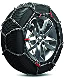 Konig 12mm CB12 Passenger Car Snow Chain, Size 080 (Sold in pairs)