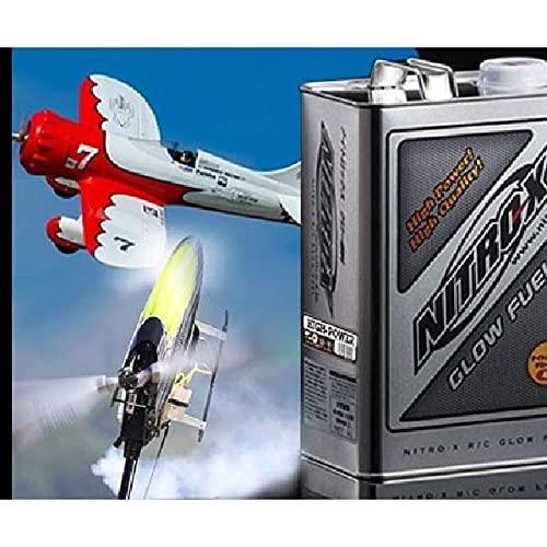 NITRO-X(ナイトロックス)20% (4L) パワー 【レッド】【 OS R/C飛行機・ヘリコプター用燃料】OS 79731413