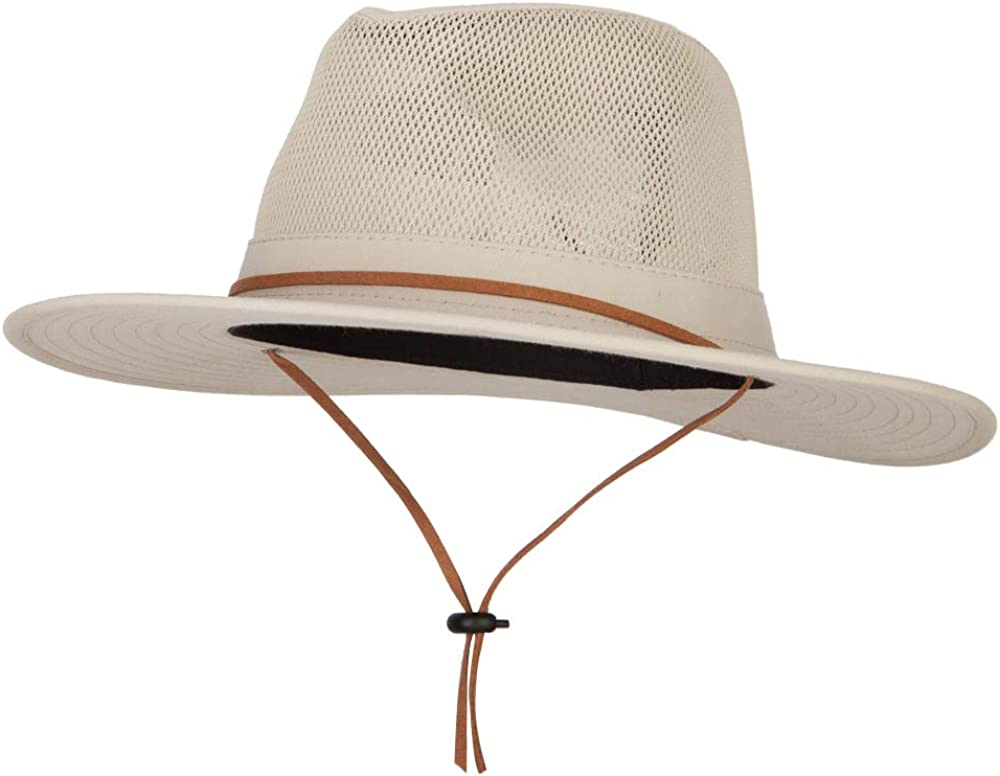 e4Hats.com Men's Cotton Canvas 35% Popularity OFF Style Outback Hat Fedora