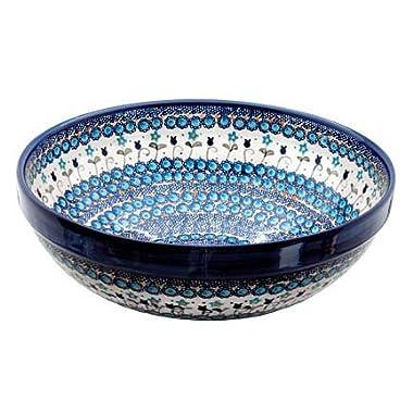 Polish Pottery Savannah Large Serving Bowl