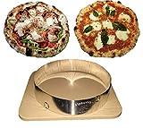 Vesuvio Pizza Accelerator Ring Make 90 Second Pizza in Your Home Oven