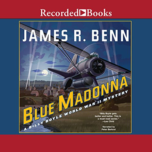 Blue Madonna audiobook cover art