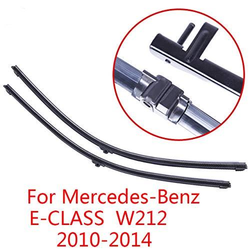 LILIGUAN ruitenwisser, voor Mercedes Benz E-Klasse W212 2010 2011 2012 2013 2014, Auto Soft Rubber ruitenwisser