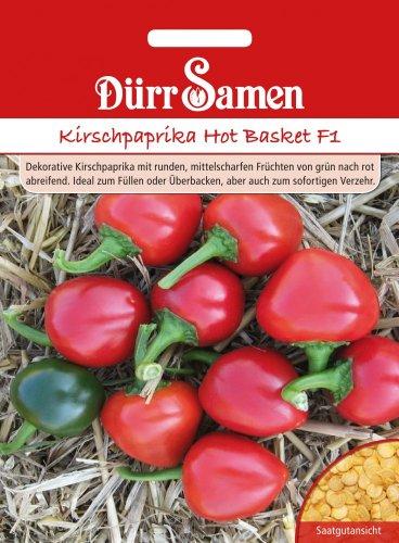 Paprikasamen - Kirschpaprika Hot Basket F1 von Dürr-Samen