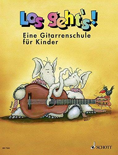 Los geht's!: Eine Gitarrenschule für Kinder. Gitarre. Schülerheft.