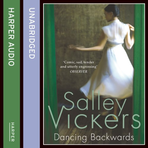Dancing Backwards audiobook cover art