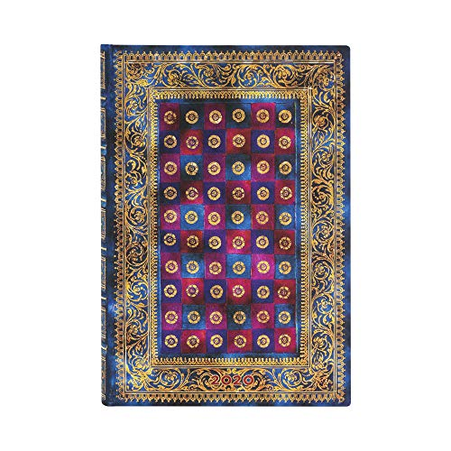 Paperblanks 12-Monatskalender 2020 Celeste | Horizontal | Mini (95 × 140 mm)