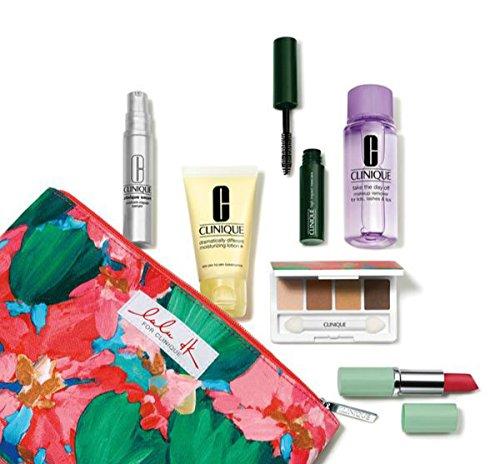 NEW 2015 Clinique 7 Pcs Makeup Skincare Gift Set with Smart Custom-Repair Serum & More! ($70+ Value)