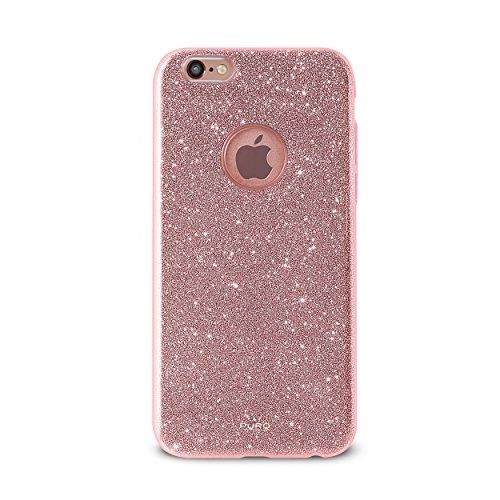 Puro Cover PC+TPU Shine per iPhone 7 Oro Rosa