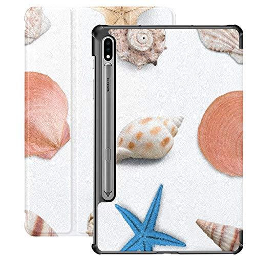 Funda Galaxy Tablet S7 Plus de 12,4 Pulgadas 2020 con Soporte para bolígrafo S, diseño acuático de Animales Funda Protectora con Soporte Delgado para Samsung