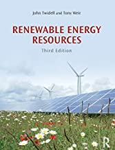 Renewable Energy Resources by John Twidell (2015-01-14)