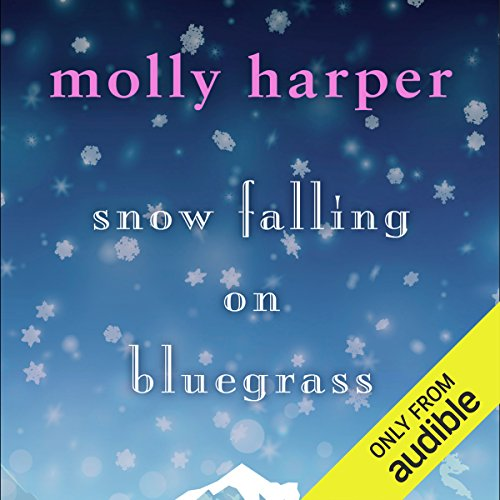 Snow Falling on Bluegrass audiobook cover art