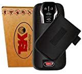 TSK Faraday Key Fob Protector | Anti-Hacking Pouch for Protection of Your Car Key Case | RFID Signal Blocking | Your Shield Against All Signal Types