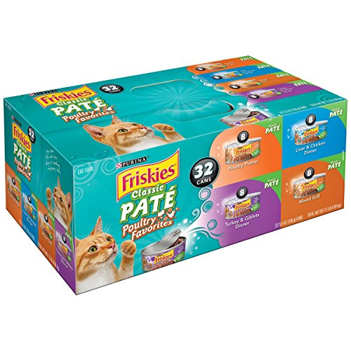 Purina Friskies. Classic Pate Poultry Favorites Cat Food Variety Pack (Variety Pack 1)