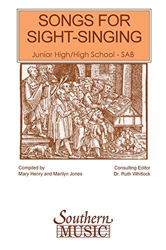 Songs For Sight Singing-Jr-Sr-Sab (Sss) - SAB - PART