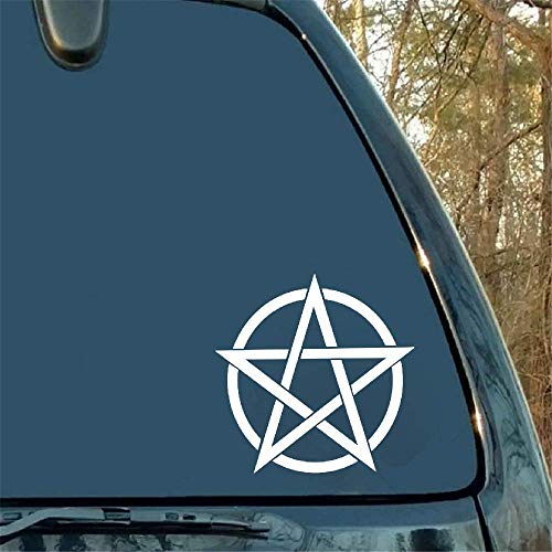 Car Sticker Car Decal Car Bumper Sticker Gothic Witch Sticker Satin Hell Devil De Packaging Accessories Decal Pattern Animal