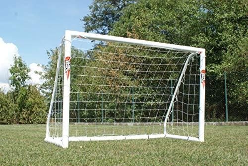 POWERSHOT® Fußballtor PRO 1,5 x 1,2m aus wetterfestem PVC - mit Klicksystem und Zubehör - Fußballtor Garten