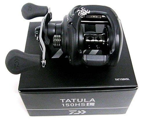 """Daiwa, Tatula Casting Reel, 150, 7.3:1 Gear Ratio, 7BB, 1RB Bearings, 20.50"""" Retrieve, Left Hand"""