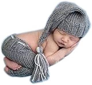 Newborn Baby Crochet Knitted Photo Photography Prop Hat Pants Outfits