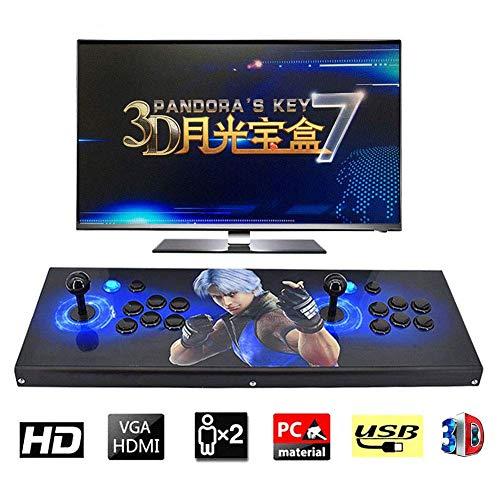 ZQYR GAME# Console de Jeux vidéo 3D Console de Jeux 2350 Jeu rétro 1080P Machine d'arcade rétro CPU avancé Boutons personnalisés Liste Intelligente, Model: BZ-8224