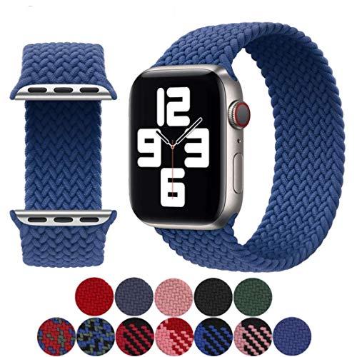 Pulseira loop solo trançada Apple Watch 44mm Lonytech