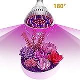 SHEHUIREN Pflanzenlampe LED Grow Lampe 30W 50W 80W 100W Ac85 265V Uv-Ir E27 Led Wachsen Licht Für Lampe des Pflanzen Gewächshäusern Garten Innengärten,30W