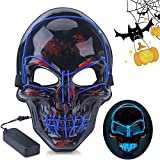 Halloween LED Mask Purge Party Favor Scary Death Skull