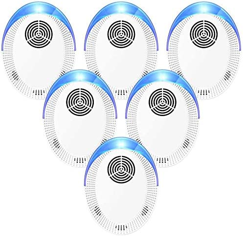 Bocianelli Ultrasonic Pest Repeller 6 Pack 2020 Pest Repellent Pest Control Set of Electronic product image