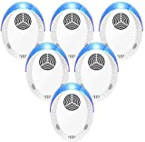 Bocianelli Ultrasonic Pest Repeller 6 Pack, 2020...