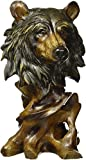 Bear Bust Head Decoration Figurine