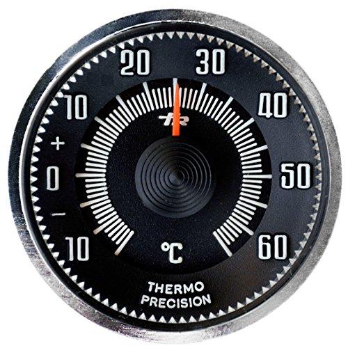 PKW Auto Zusatz Thermometer 1960 mit Magnethalter / HR Art. 4670M