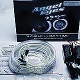 KIT AROS CCFL OJOS DE ANGEL 4x 131MM CANBUS E46 E39 E38 E36 BLANCO 6000K Angel Eyes Halo Ring