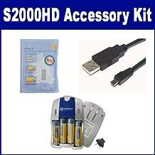 Fujifilm FinePix S2000HD Digital Camera Accessory Kit includes: USB8PIN USB Cable, SB257 Charger, KSD2GB Memory Card