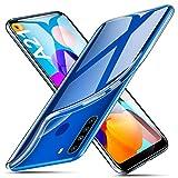ivencase Funda Samsung Galaxy A21 Transparente, Carcasa Cristal Ultra Slim Flexible Suave...